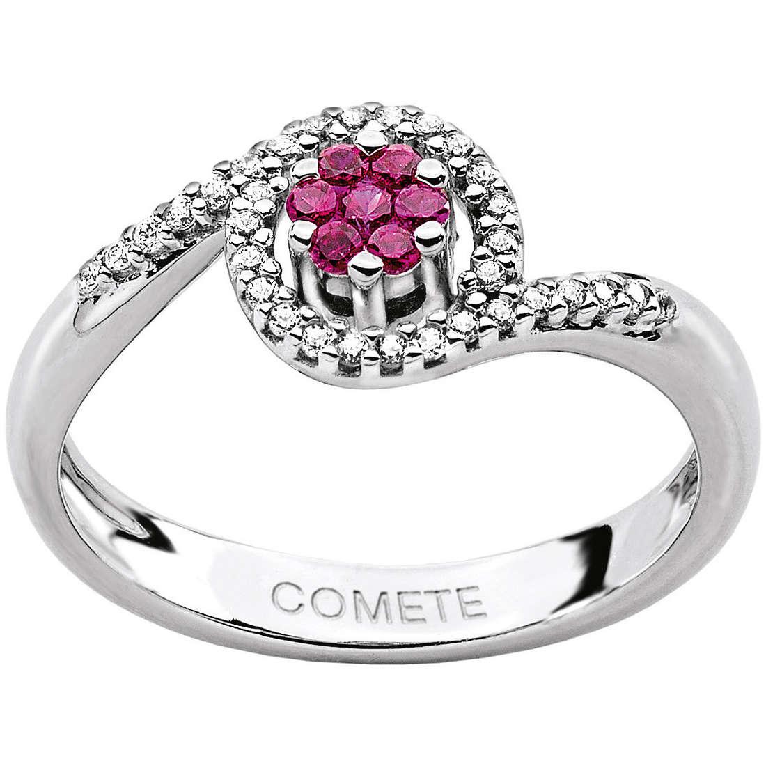 ring woman jewellery Comete Pietre preziose colorate ANB 1387