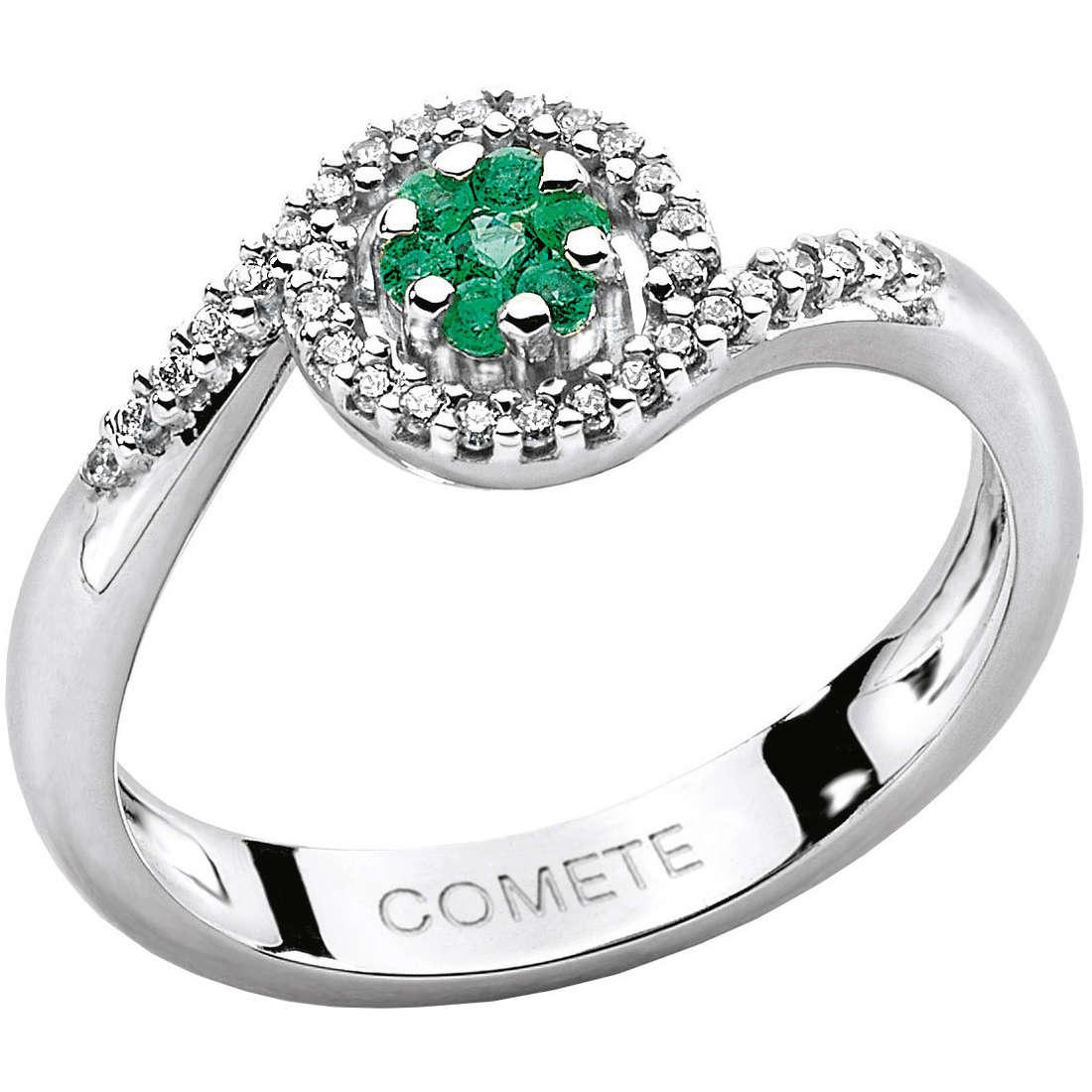 ring woman jewellery Comete Pietre preziose colorate ANB 1389