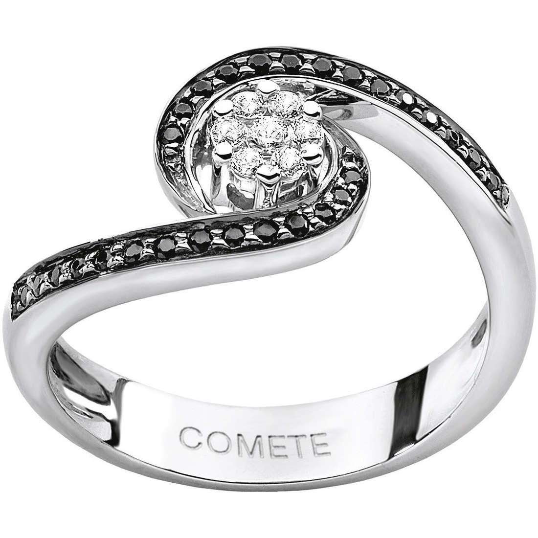 ring woman jewellery Comete Pietre preziose colorate ANB 1390