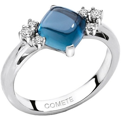 ring woman jewellery Comete Pietre preziose colorate ANB 1400