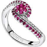 ring woman jewellery Comete Pietre preziose colorate ANB 1486