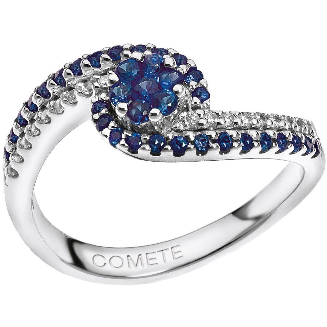 ring woman jewellery Comete Pietre preziose colorate ANB 1487