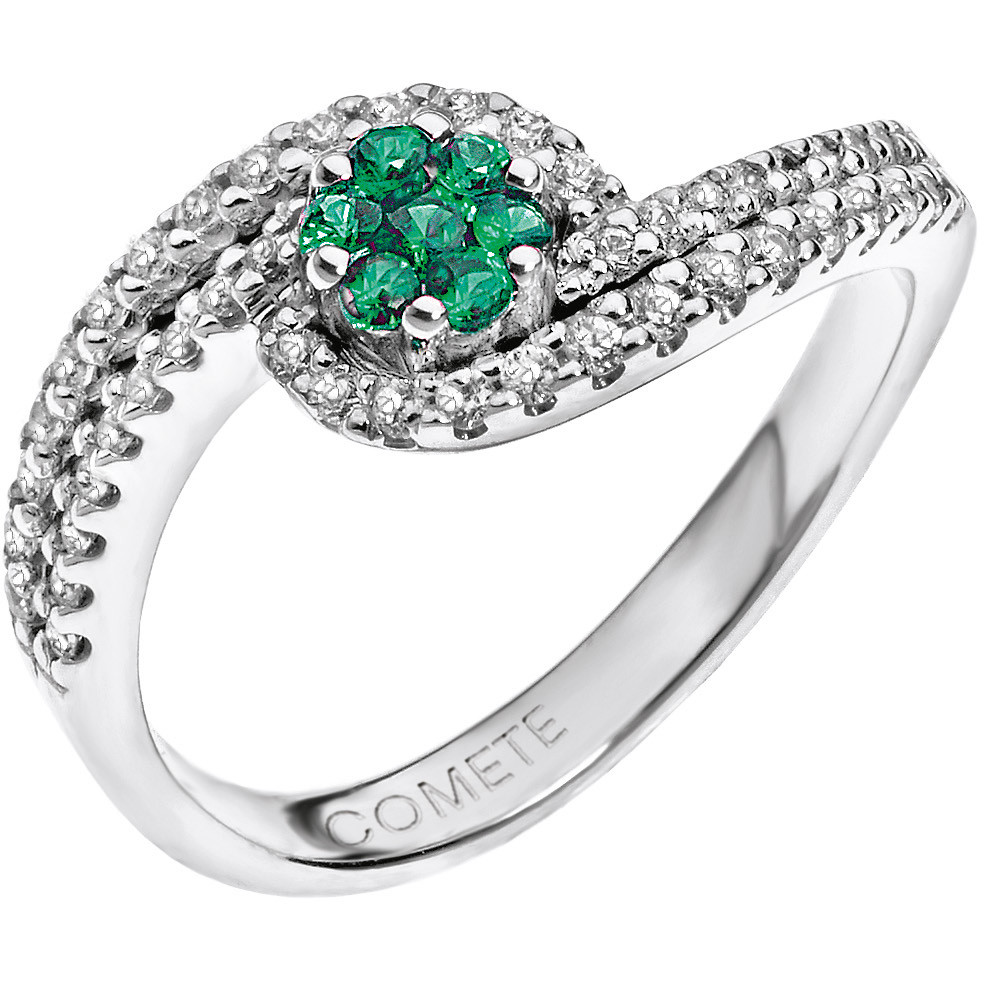 ring woman jewellery Comete Pietre preziose colorate ANB 1488