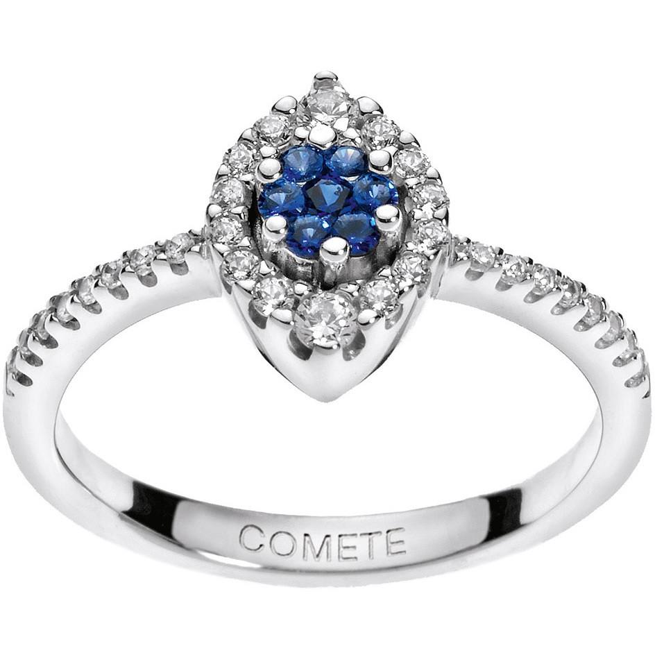 ring woman jewellery Comete Pietre preziose colorate ANB 1492