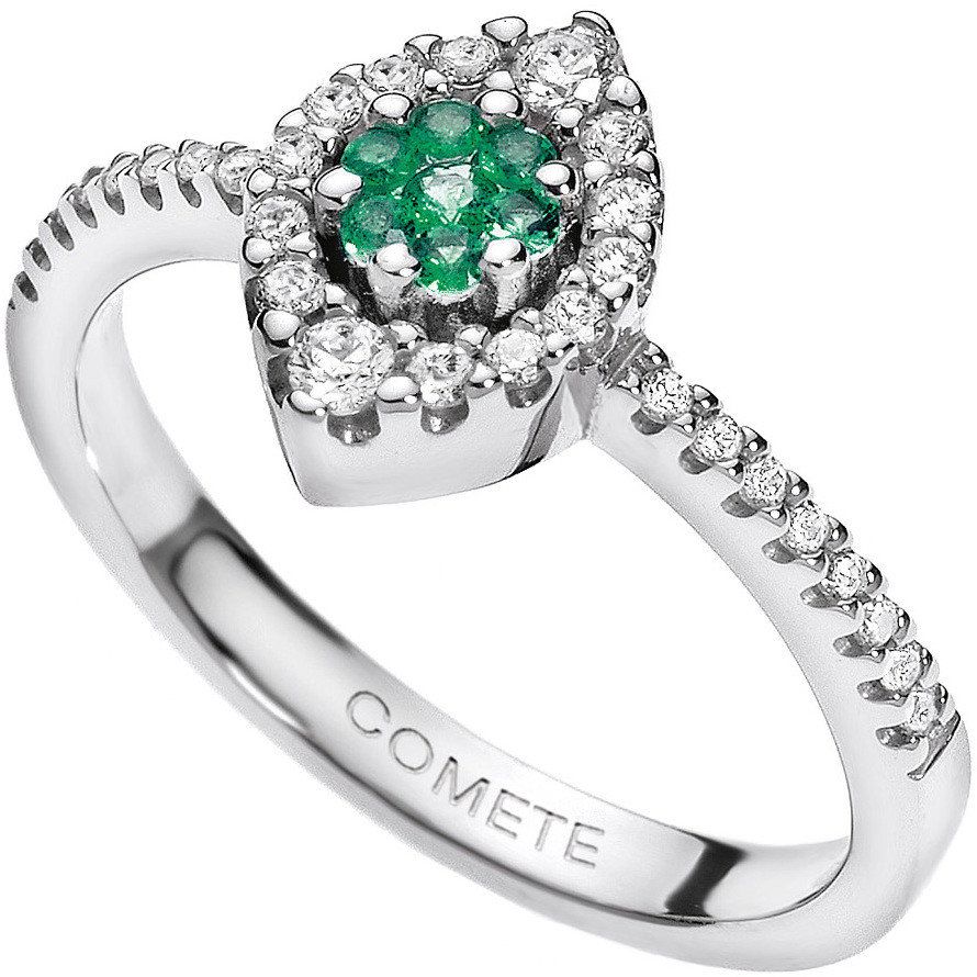 ring woman jewellery Comete Pietre preziose colorate ANB 1494