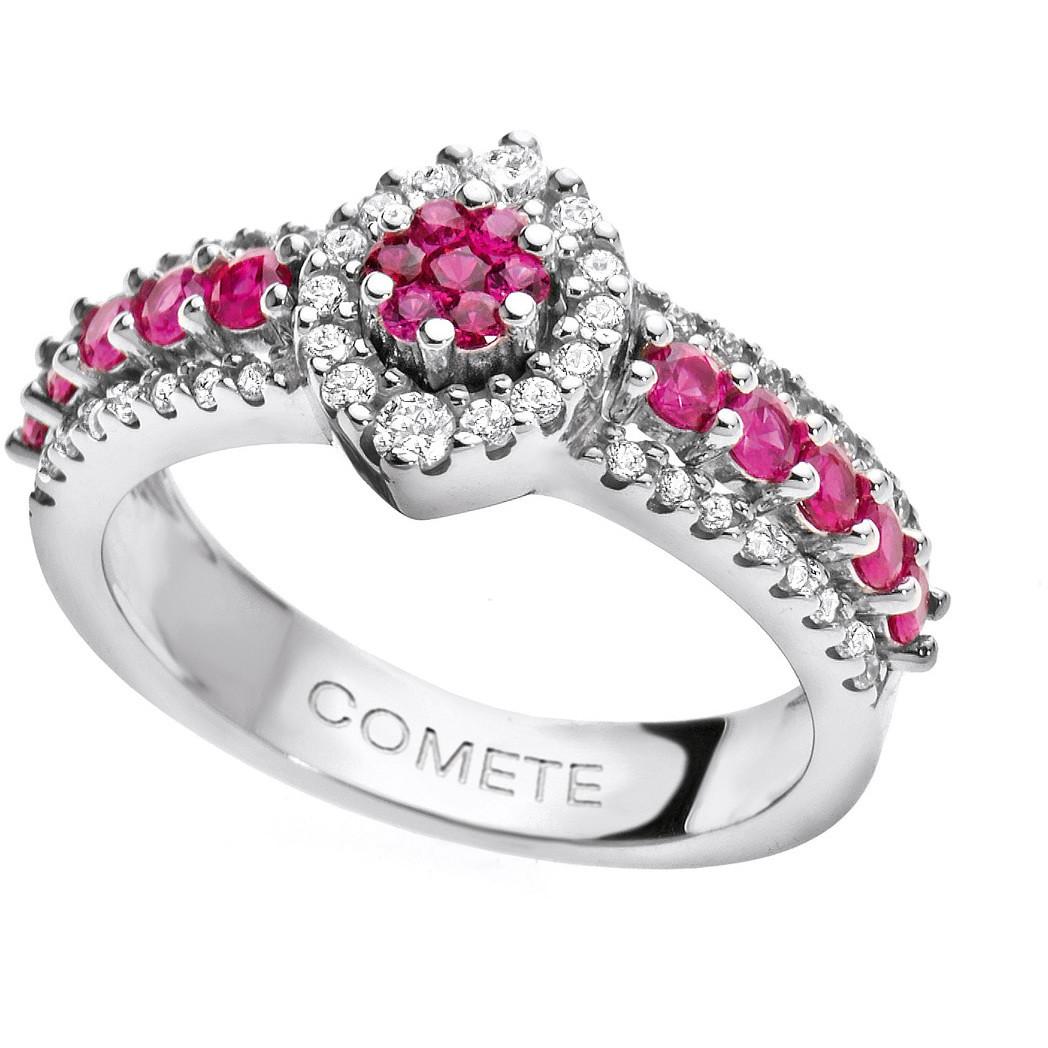 ring woman jewellery Comete Pietre preziose colorate ANB 1497