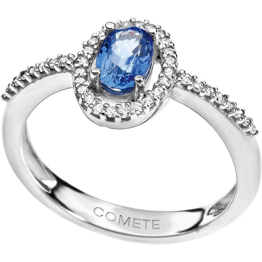 ring woman jewellery Comete Pietre preziose colorate ANB 1514