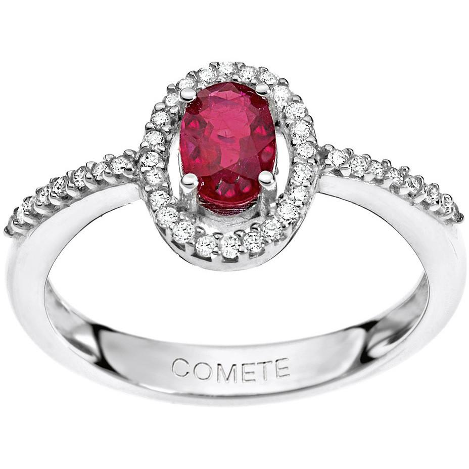 ring woman jewellery Comete Pietre preziose colorate ANB 1515