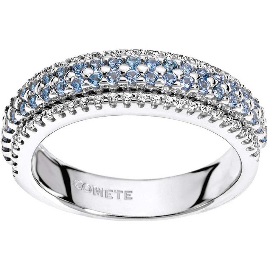 ring woman jewellery Comete Pietre preziose colorate ANB 1556