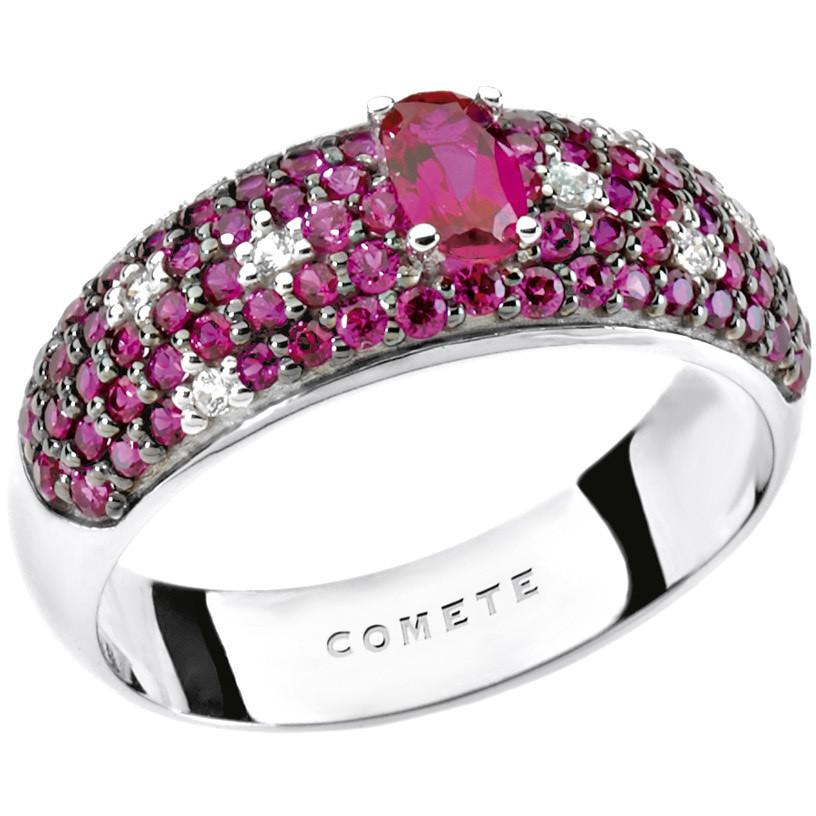 ring woman jewellery Comete Pietre preziose colorate ANB 1666