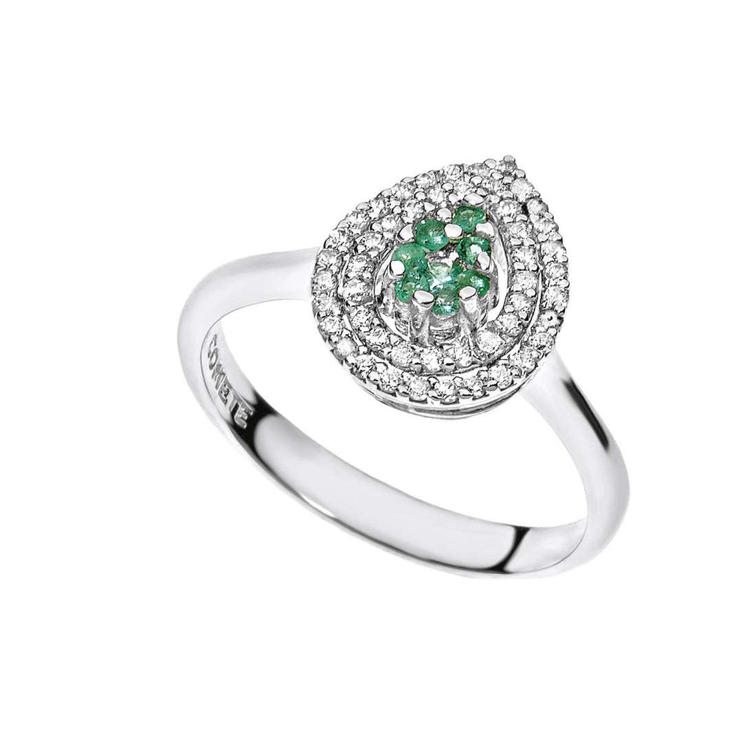 ring woman jewellery Comete Pietre preziose colorate ANB 1719