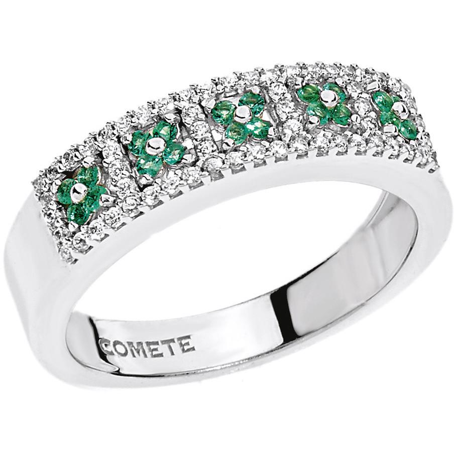 ring woman jewellery Comete Pietre preziose colorate ANB 1723