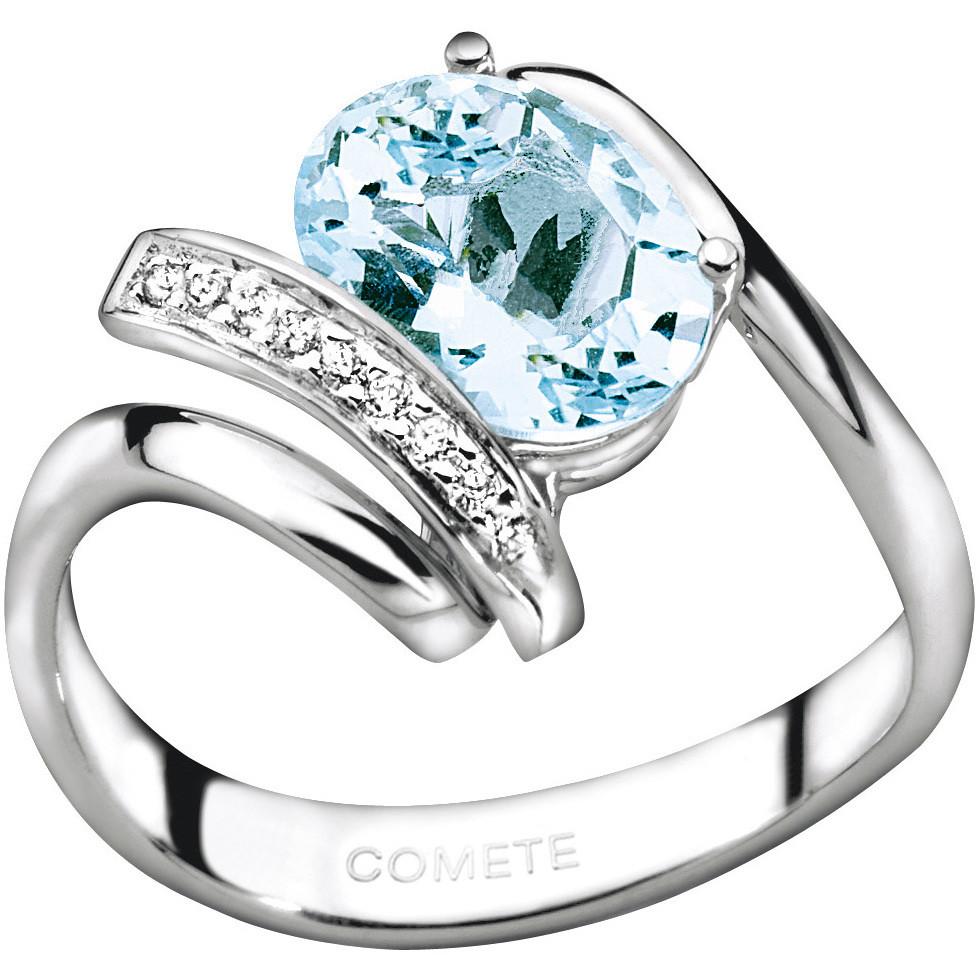 ring woman jewellery Comete Pietre preziose colorate ANQ 250