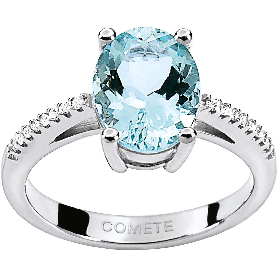 ring woman jewellery Comete Pietre preziose colorate ANQ 257