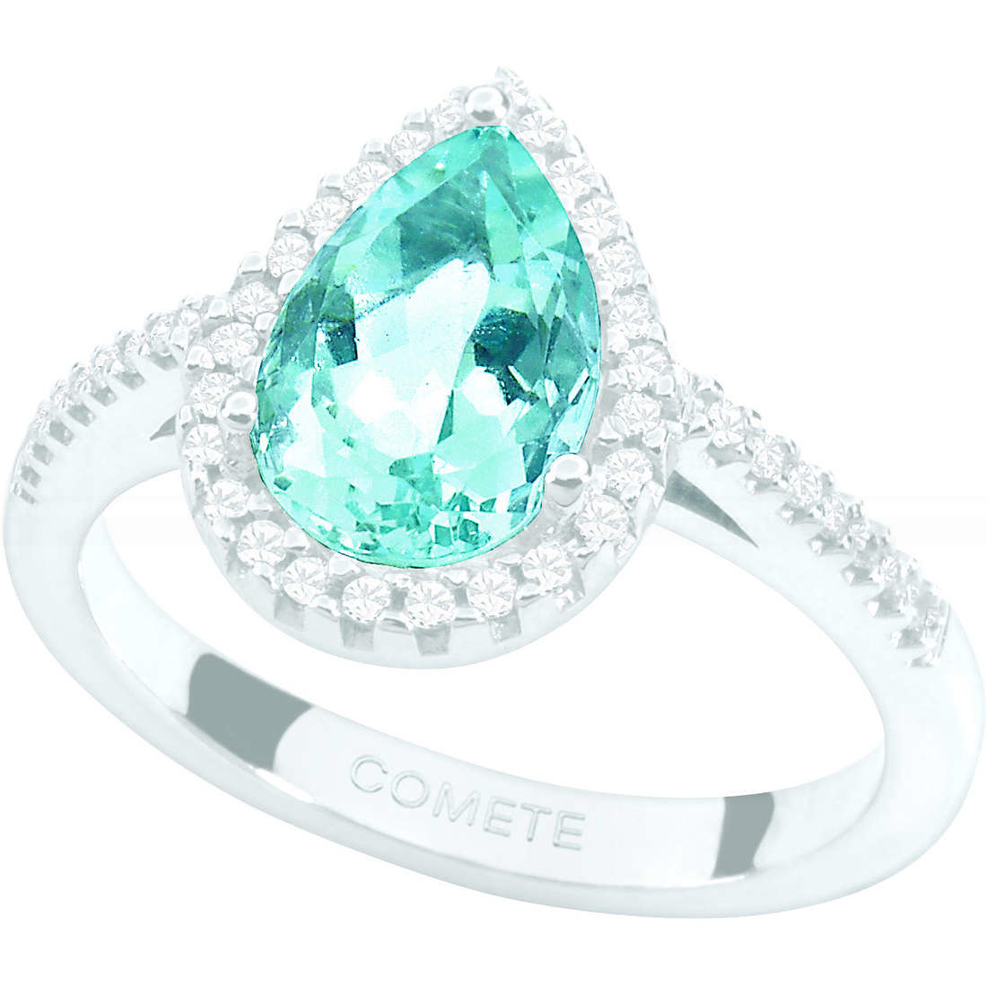 ring woman jewellery Comete Pietre preziose colorate ANQ 259