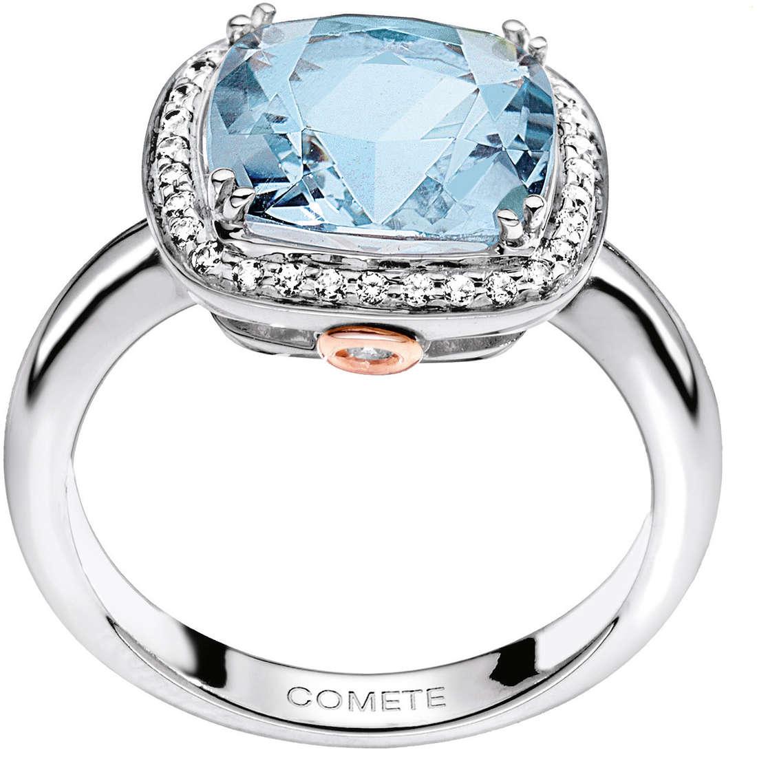 ring woman jewellery Comete Pietre preziose colorate ANQ 267