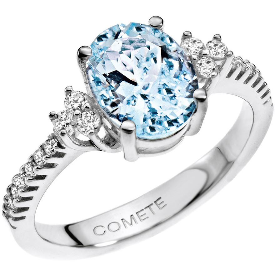 ring woman jewellery Comete Pietre preziose colorate ANQ 273