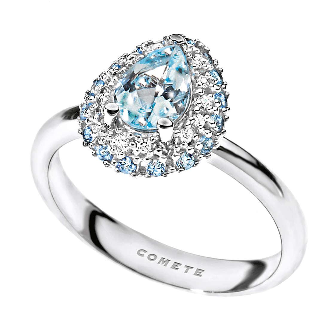 ring woman jewellery Comete Pietre preziose colorate ANQ 276
