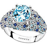 ring woman jewellery Comete Pietre preziose colorate ANQ 277