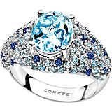 ring woman jewellery Comete Pietre preziose colorate ANQ 277