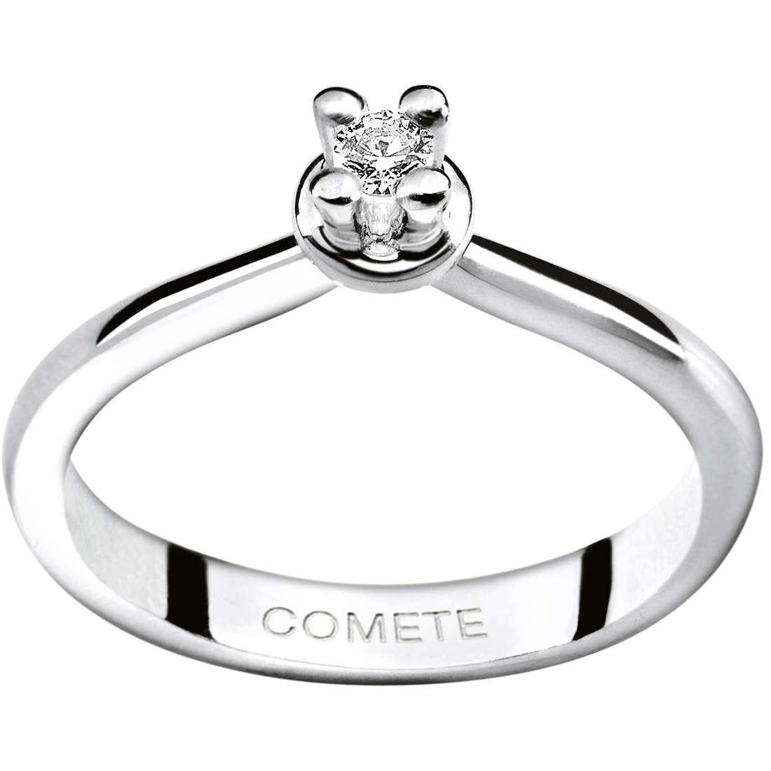 ring woman jewellery Comete Solitario ANB 1161