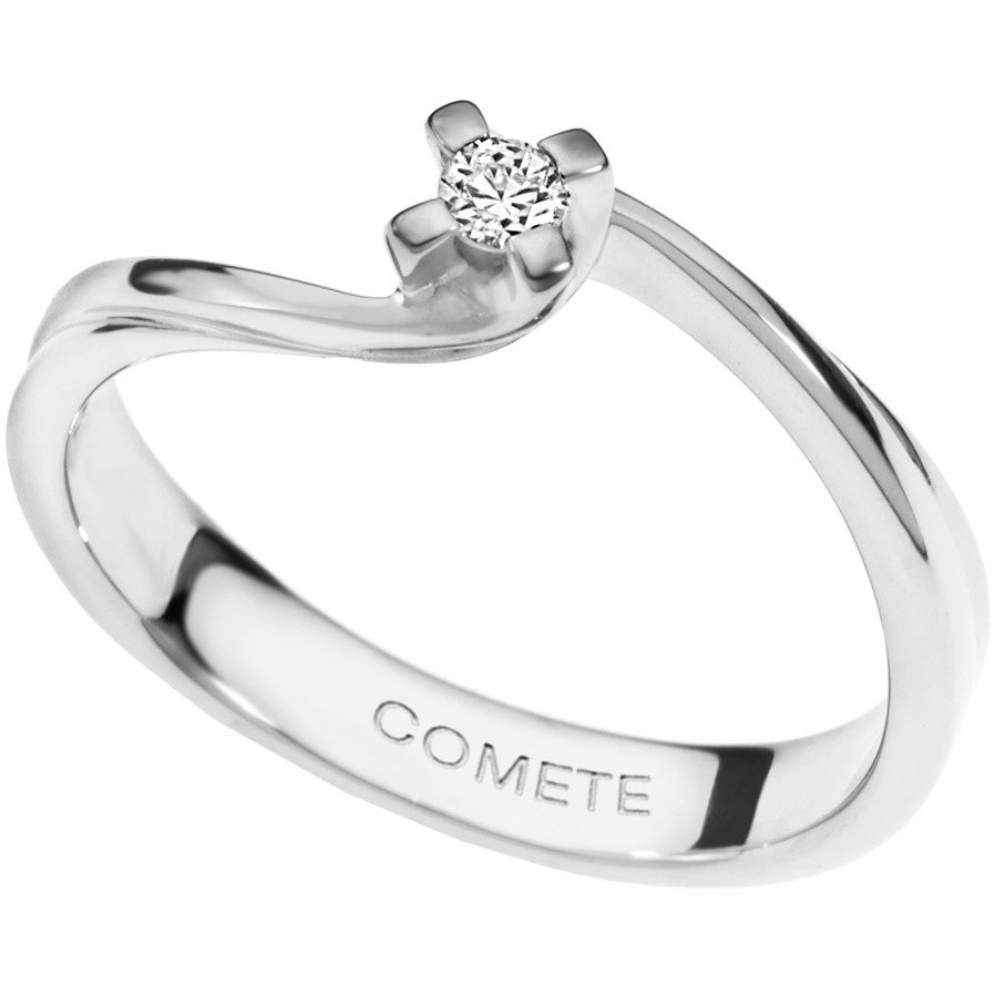 ring woman jewellery Comete Solitario ANB 1540