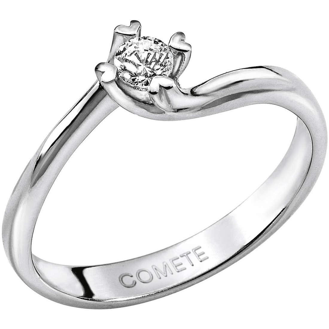 ring woman jewellery Comete Solitario ANB 1581