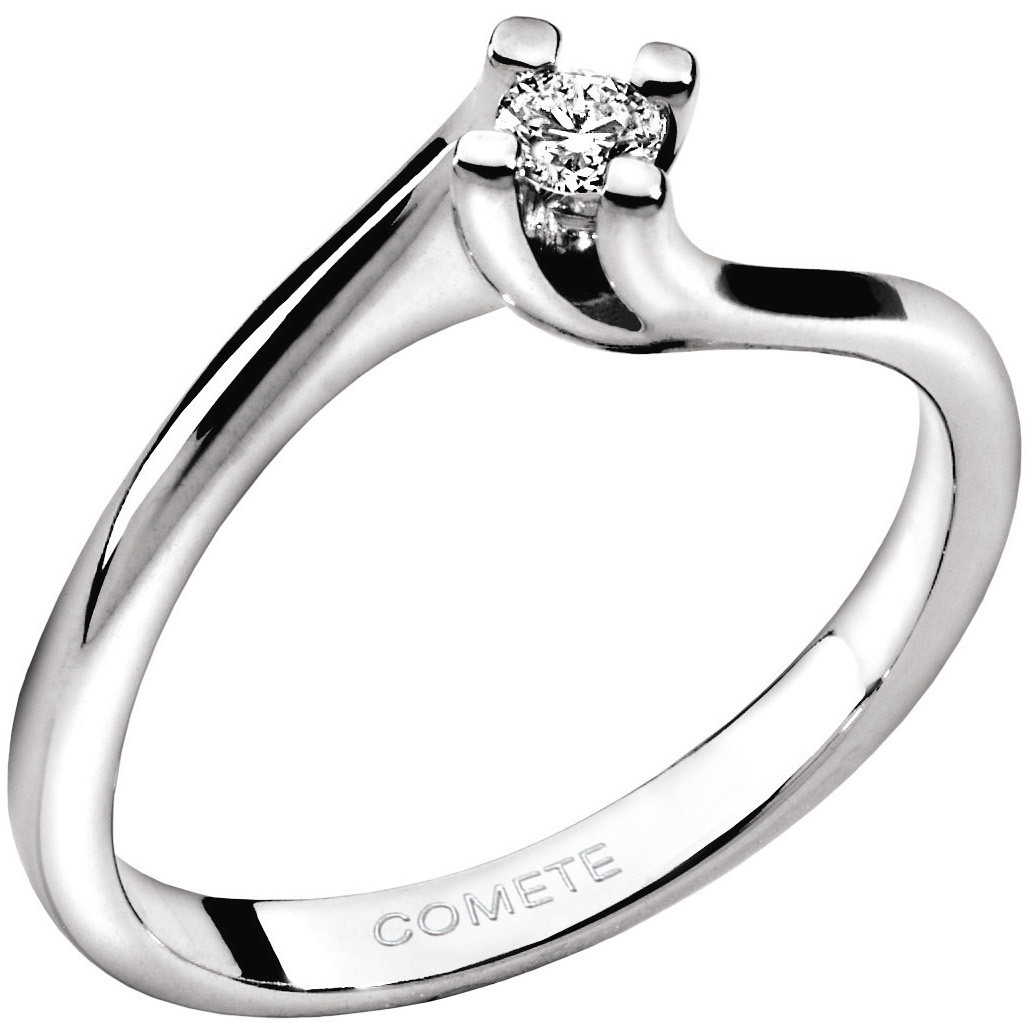 ring woman jewellery Comete Solitario ANB 1582