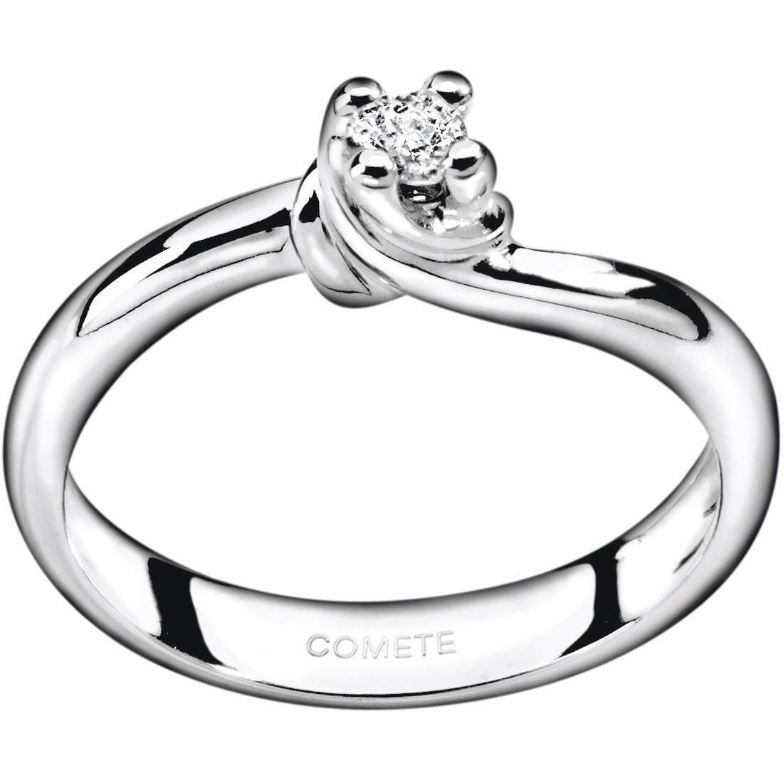 ring woman jewellery Comete Solitario ANB 1586