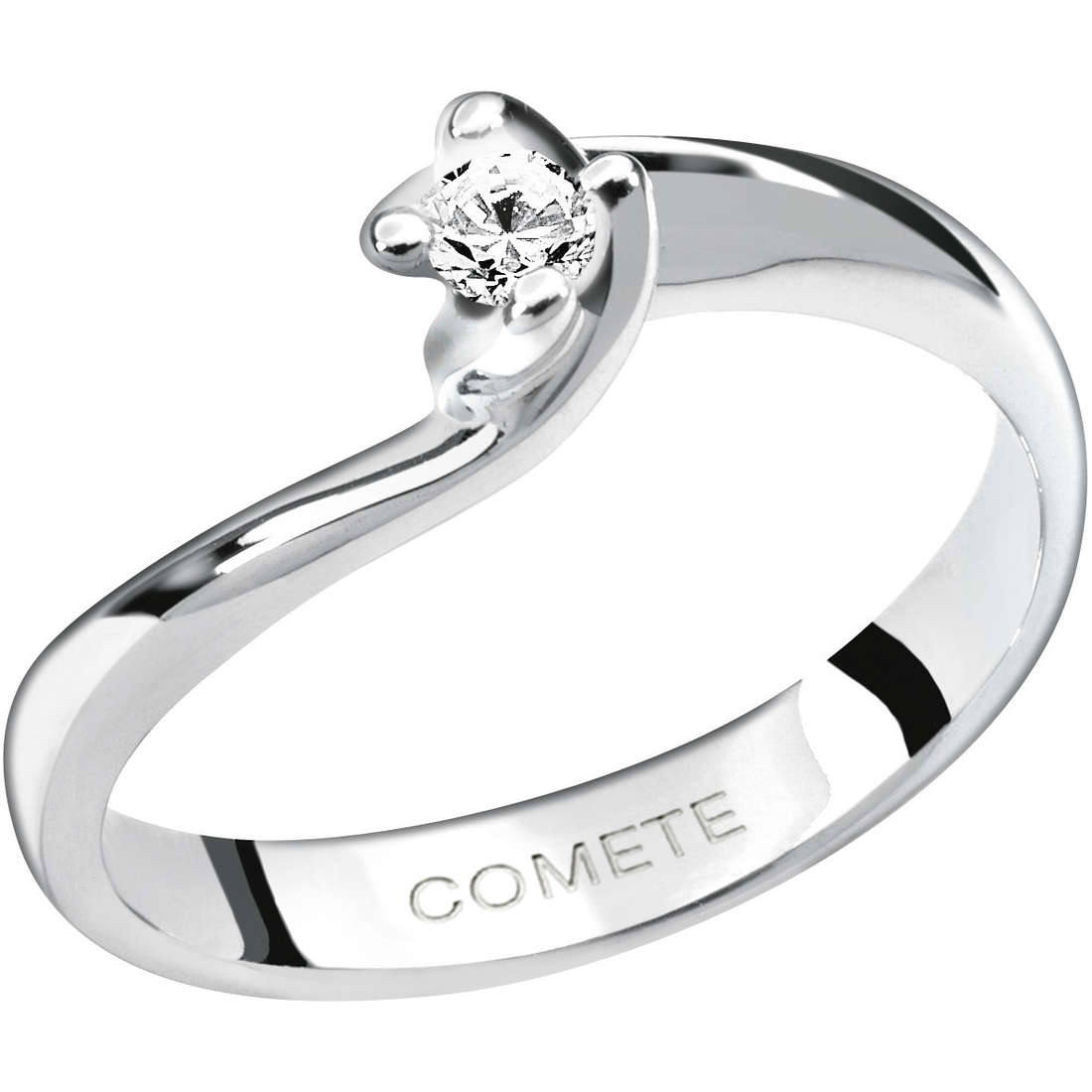 ring woman jewellery Comete Solitario ANB 1588