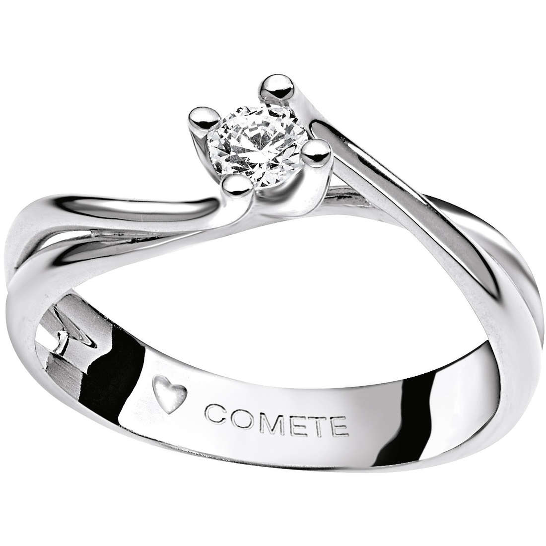 ring woman jewellery Comete Solitario ANB 1592