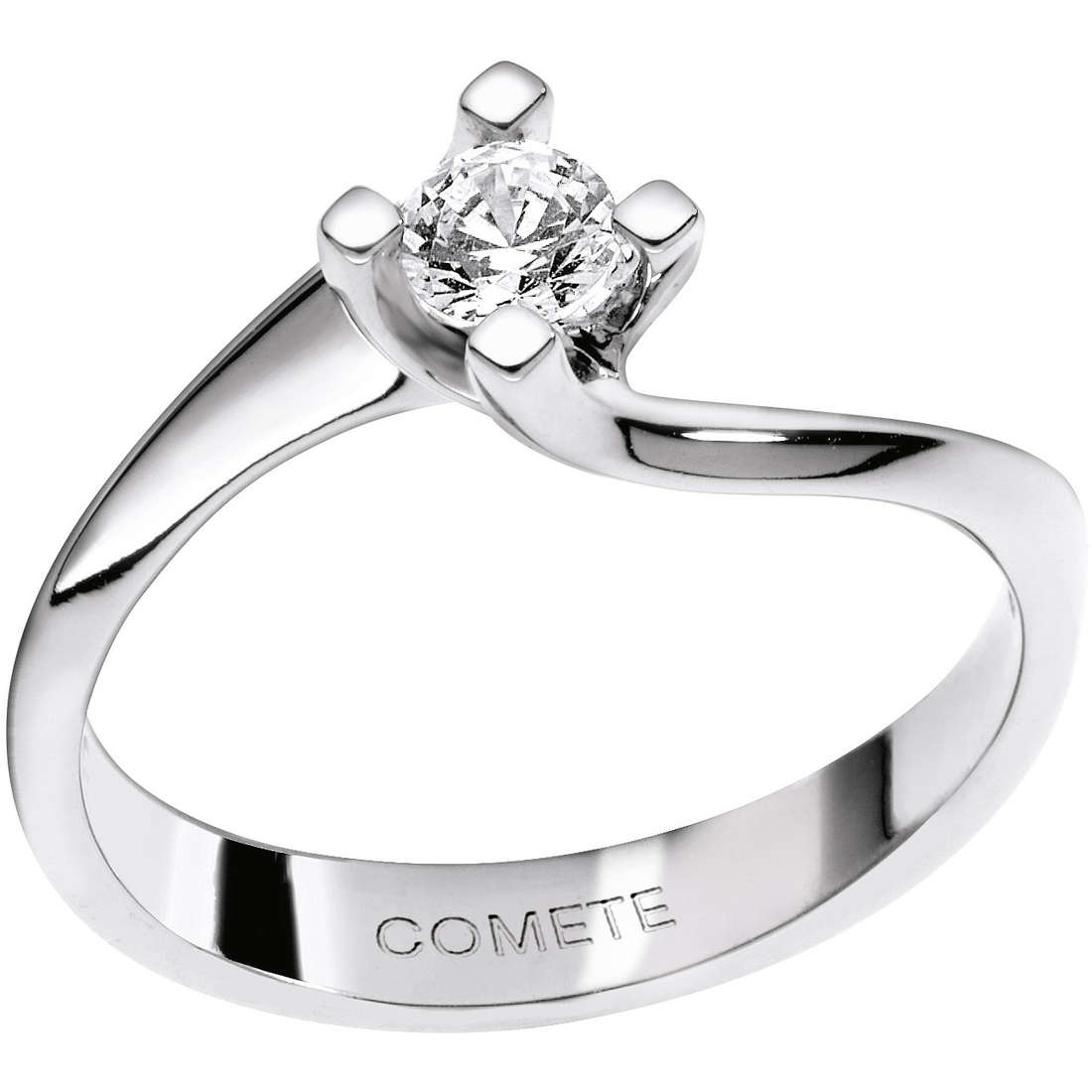 ring woman jewellery Comete Solitario ANB 1611