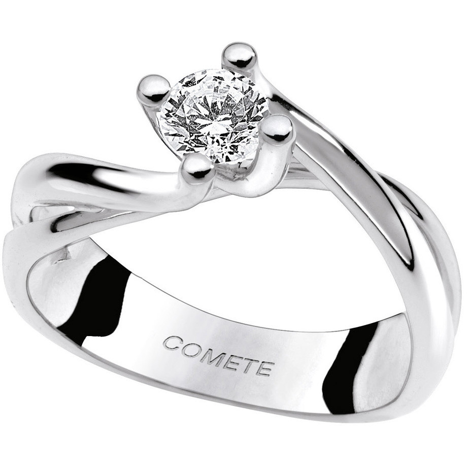 ring woman jewellery Comete Solitario ANB 1622