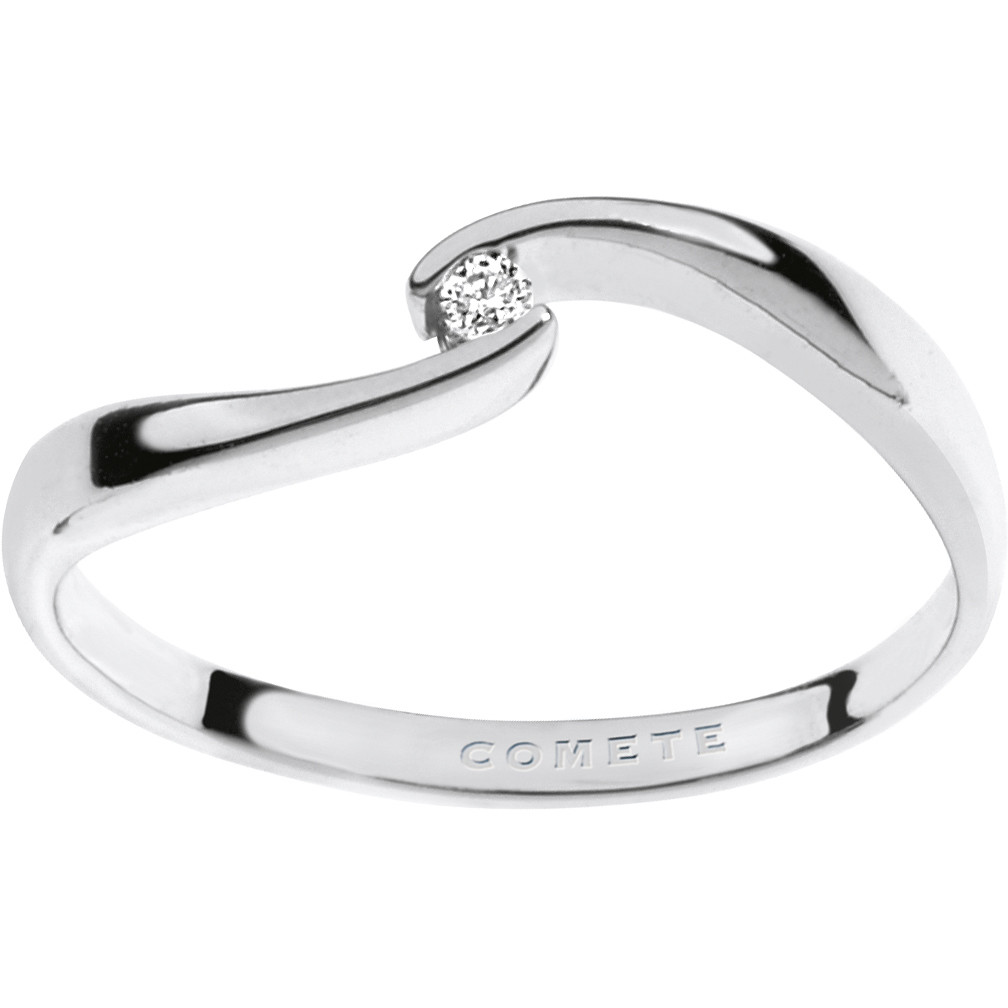 ring woman jewellery Comete Solitario ANB 1669