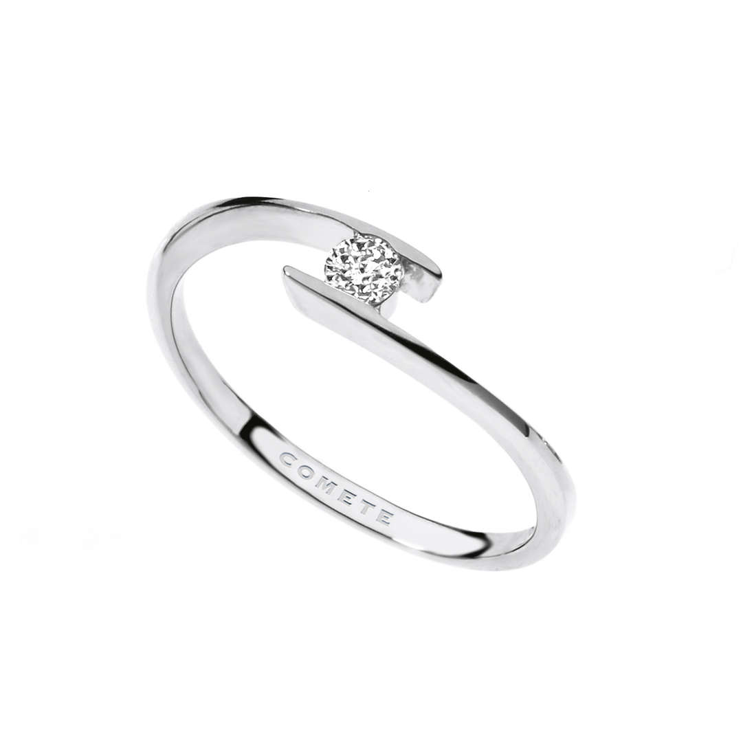 ring woman jewellery Comete Solitario ANB 1685
