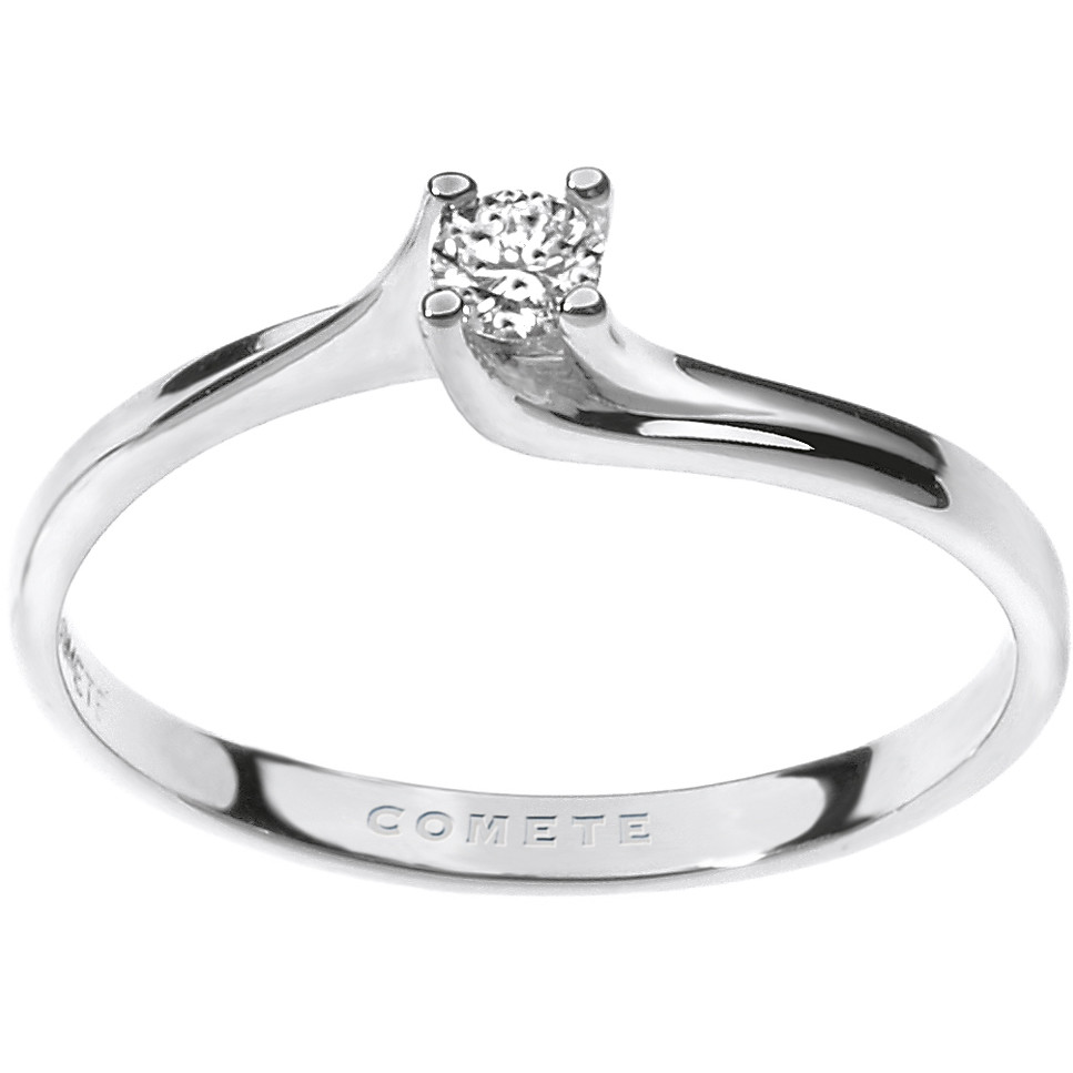ring woman jewellery Comete Solitario ANB 1686