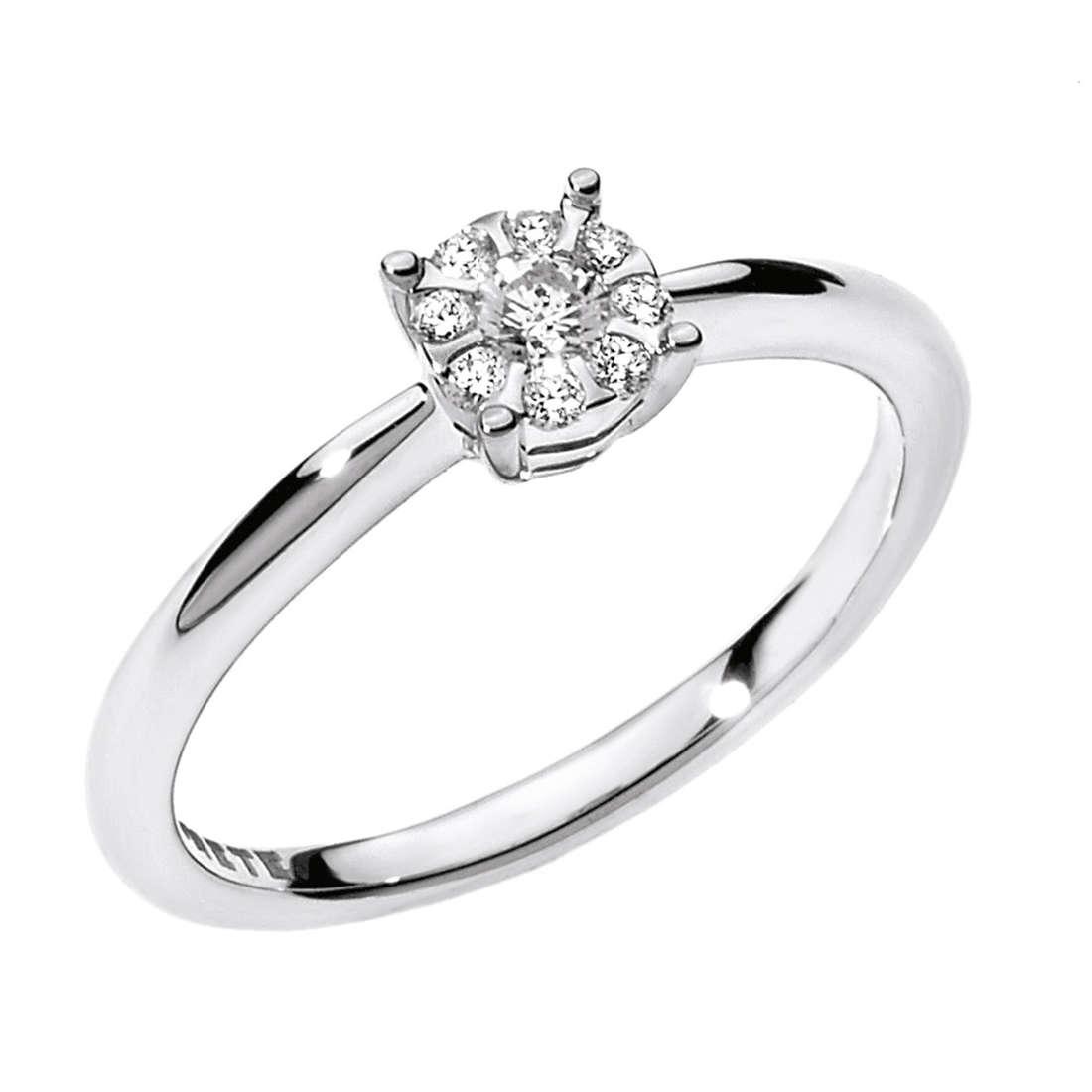 ring woman jewellery Comete Solitario ANB 1709