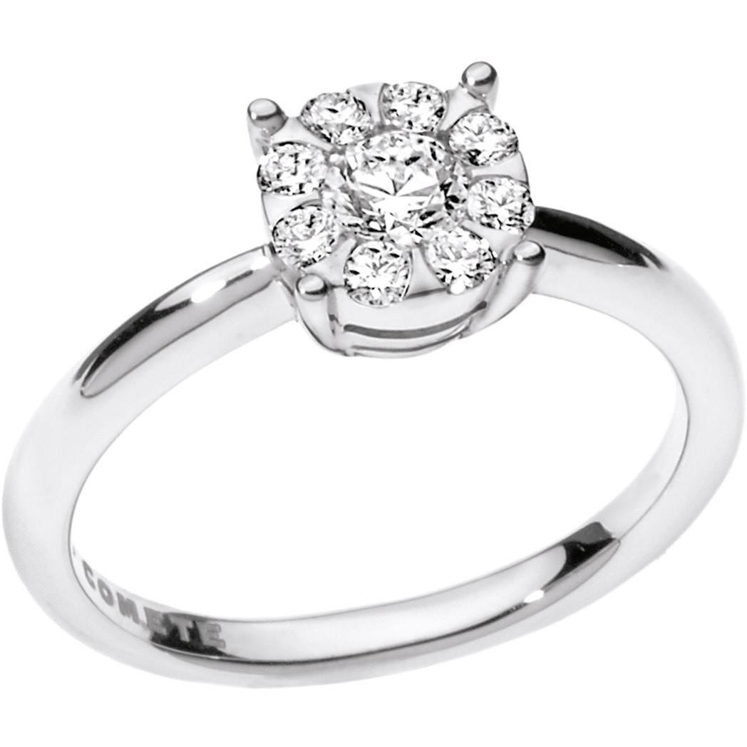 ring woman jewellery Comete Solitario ANB 1711
