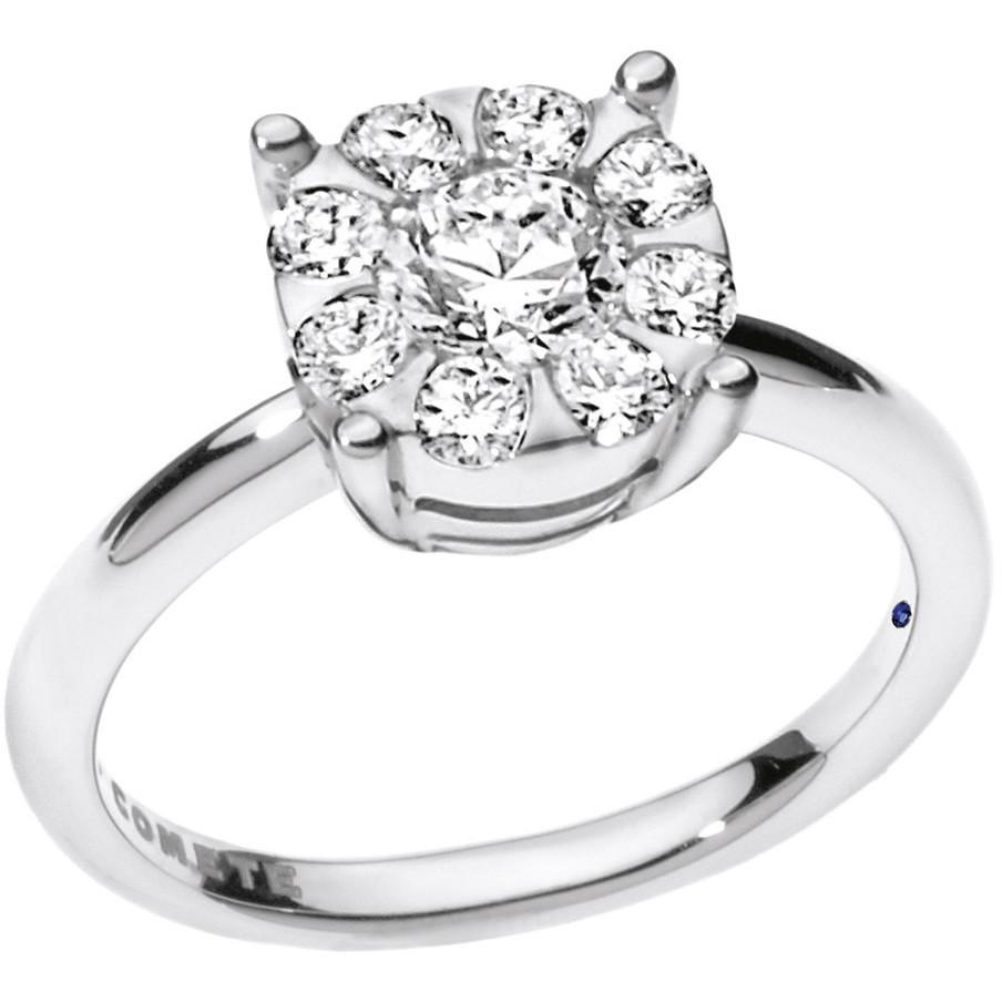 ring woman jewellery Comete Solitario ANB 1728