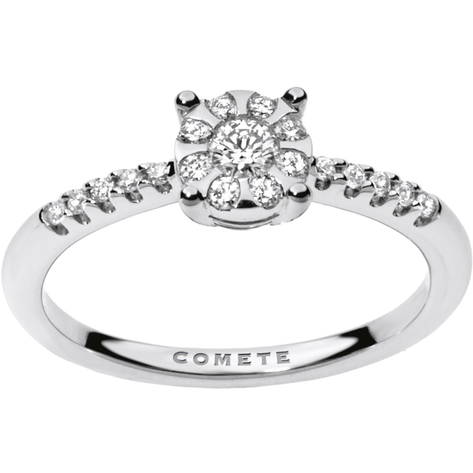 ring woman jewellery Comete Solitario ANB 1734