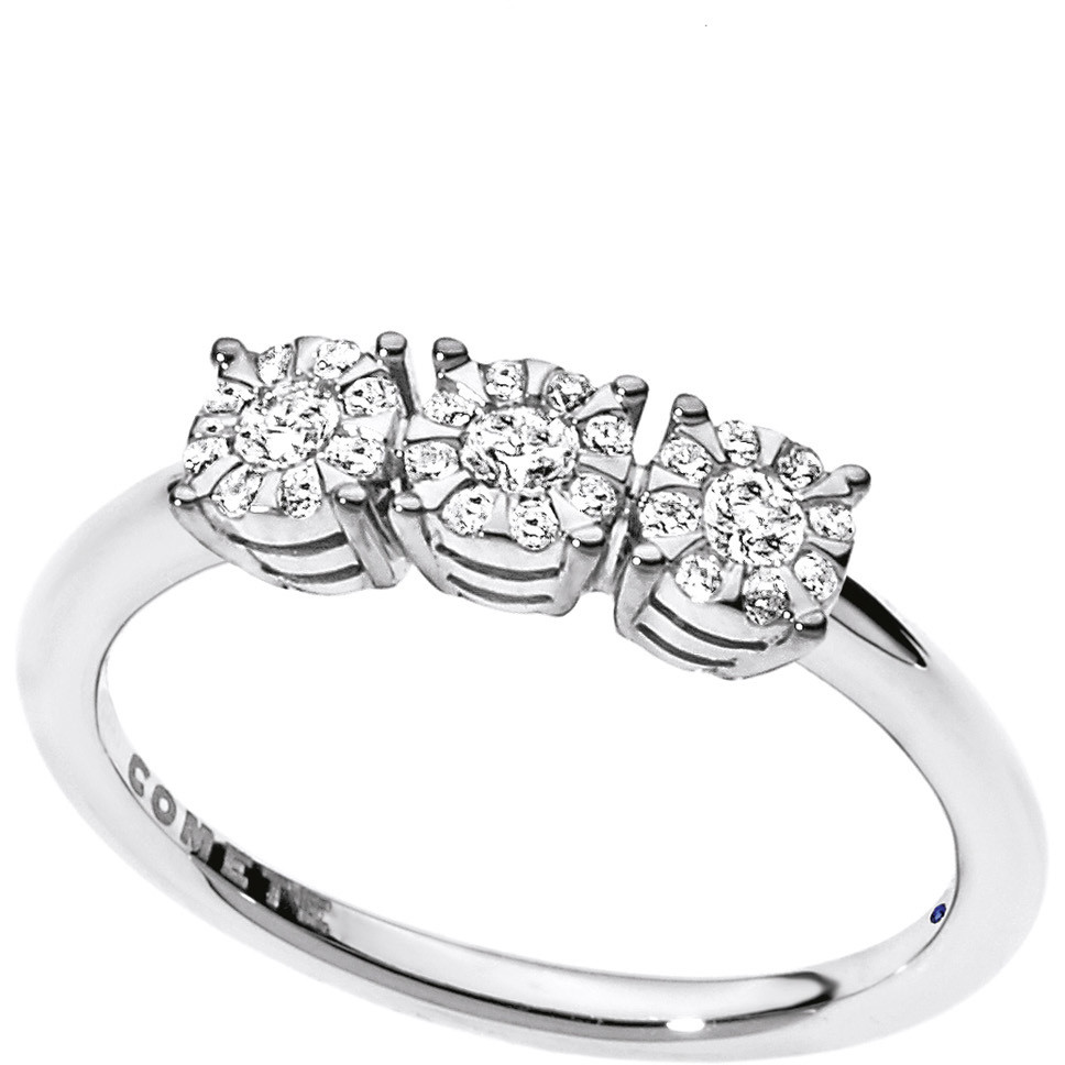 ring woman jewellery Comete Trilogy ANB 1724