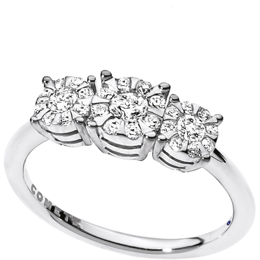ring woman jewellery Comete Trilogy ANB 1727
