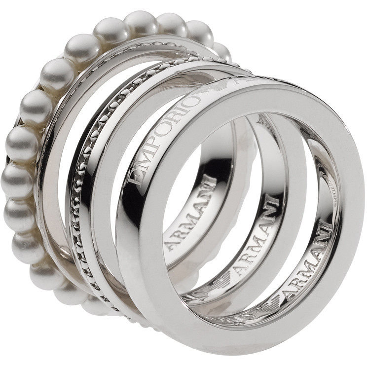 ring woman jewellery Emporio Armani EG2903040505