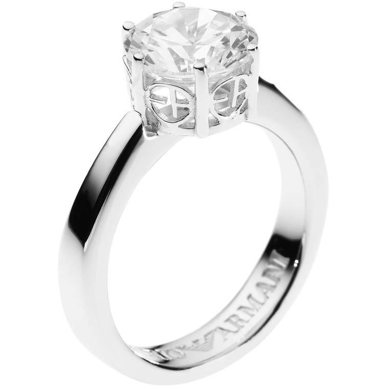 ring woman jewellery Emporio Armani EG2981040505 rings Emporio Armani