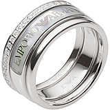 ring woman jewellery Emporio Armani EG3344040505