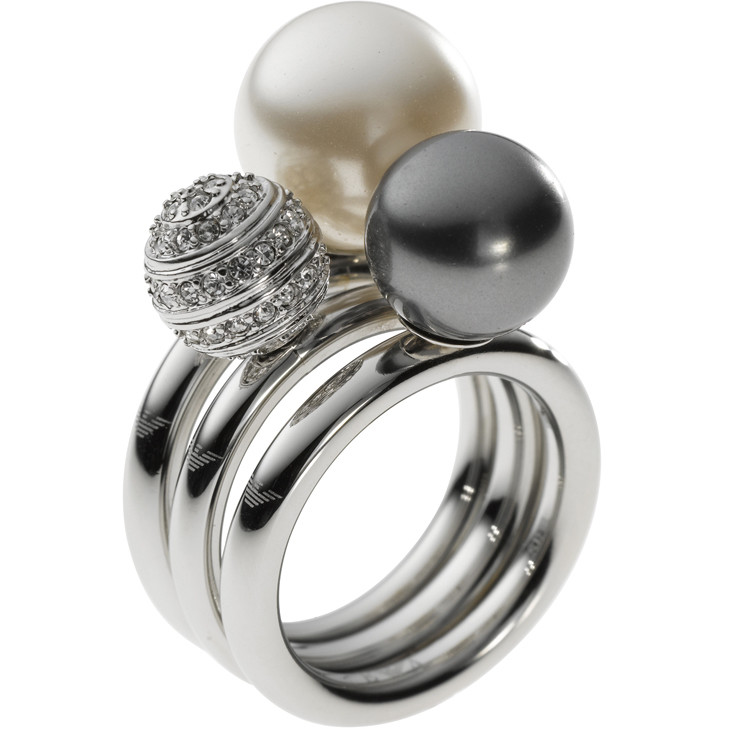 ring woman jewellery Emporio Armani EGS1453040505
