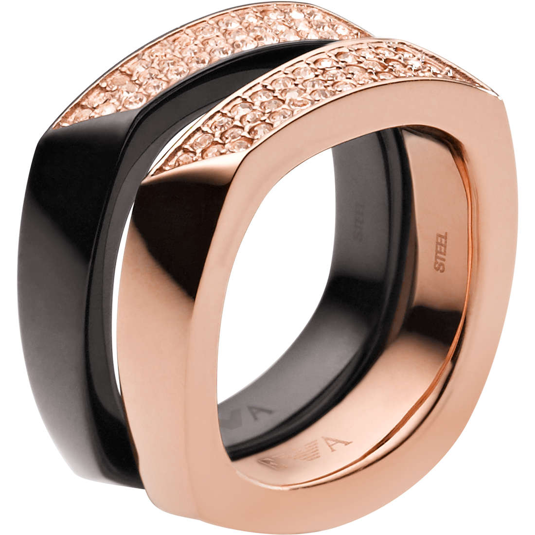 ring woman jewellery Emporio Armani EGS1759221503