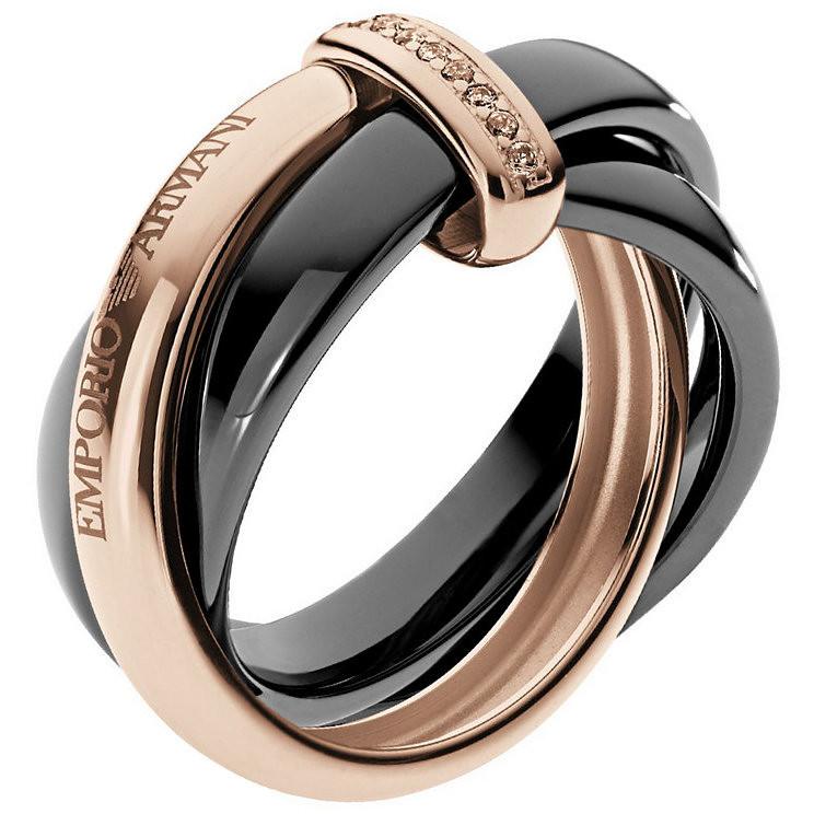 ring woman jewellery Emporio Armani Fall 2013 EG3081221503