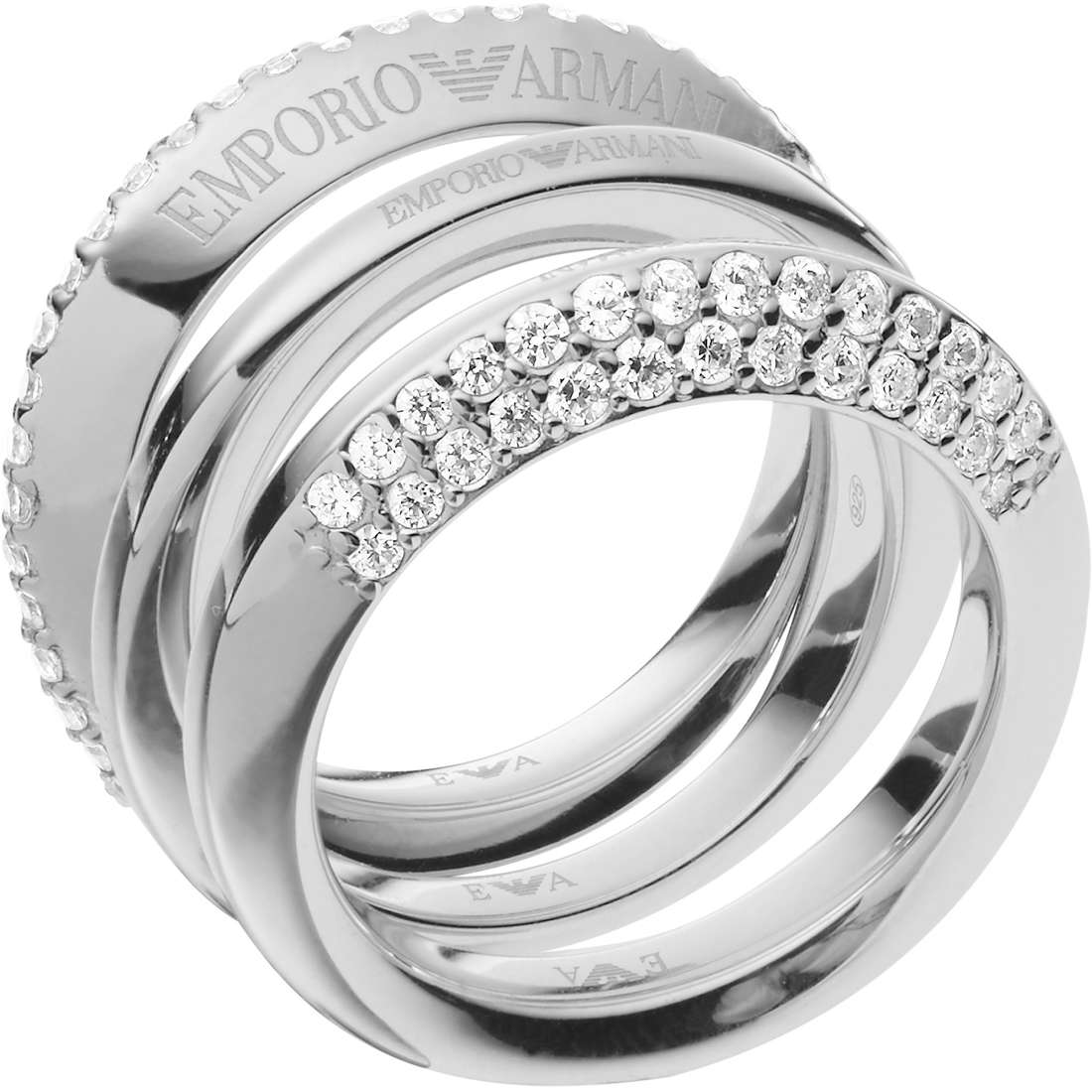 ring woman jewellery Emporio Armani Stelle EG3299040508