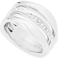 ring woman jewellery Fossil Classics JF01147040505